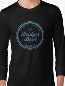 Bridger Bowl Ski Resort Montana Long Sleeve T-Shirt
