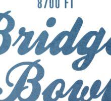 Bridger Bowl Ski Resort Montana Sticker