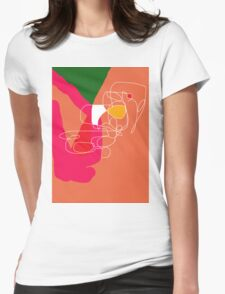 Playful  design by Moma Womens Fitted T-Shirt