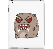 angry hamster iPad Case/Skin