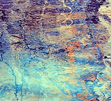 Texture of Water 1 by kimwatson
