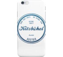 Kitzbuhel Ski Resort Austria iPhone Case/Skin