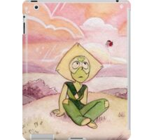 Peace and Love on the Planet Earth - Steven Universe Peridot iPad Case/Skin