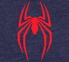Spiderman Logo vintage style grain faded Tri-blend T-Shirt