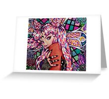 Wicked Lady Greeting Card