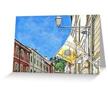 Brisighella: view Greeting Card