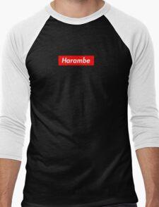 Vintage Harambe Men's Baseball ¾ T-Shirt