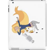 Relaxation Time With Fionna and Cake iPad Case/Skin