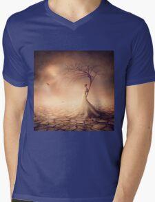 Apogee Mens V-Neck T-Shirt