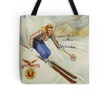 The Inn Unique New Hampshire Vintage Travel Poster Tote Bag
