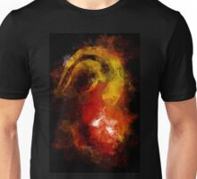 DEVIL HORN ON ABSTRACT Unisex T-Shirt