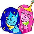 Marceline & Princess Bubblegum by nowaitwhat