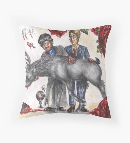 Save the Hannigram Throw Pillow