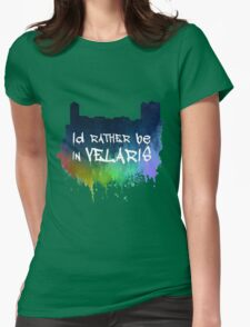 I'd Rather Be In Velaris Womens Fitted T-Shirt