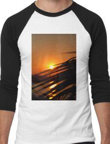 Sunset in Crete Men's Baseball ¾ T-Shirt