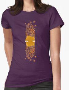 Flying Flower Face Stripe T-Shirt