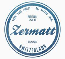 Zermatt Ski Resort Switzerland by CarbonClothing