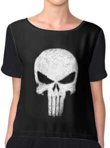Aged Punishment Women's Chiffon Top