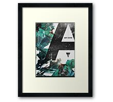 art zone Framed Print