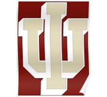 Logo of Indiana University for DarkColors Poster