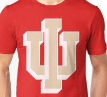 Logo of Indiana University for Dark Colors Unisex T-Shirt