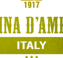Cortina d'Ampezzo Ski Resorts Italy Sticker