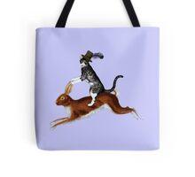 Cat Hare Tote Bag