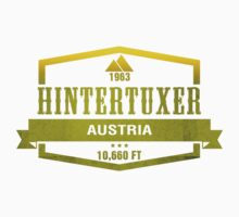 Hintertuxer Ski Resort Austria Kids Clothes