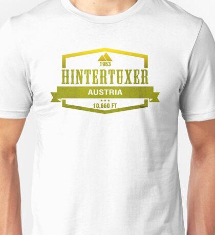 Hintertuxer Ski Resort Austria Unisex T-Shirt