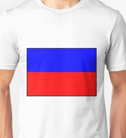 Letter E Flag Unisex T-Shirt