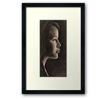 LIT FACE(s) Framed Print