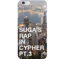 BTS Suga Cypher Pt.3 Hong Kong Iphone Case iPhone Case/Skin