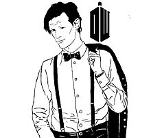 Matt Smith cartoon by eruzavocado