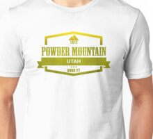 Powder Mountain Ski Resort Utah Unisex T-Shirt