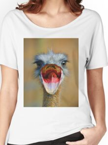 Open Wide Women's Relaxed Fit T-Shirt