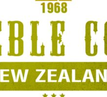 Treble Cone Ski Resort New Zealand Sticker