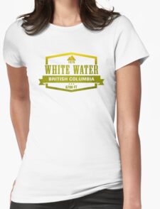 White Water Ski Resort British Columbia Womens Fitted T-Shirt