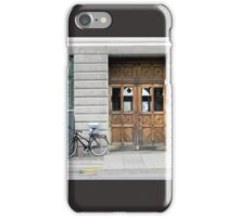 Copenhagen Wooden Door iPhone Case/Skin