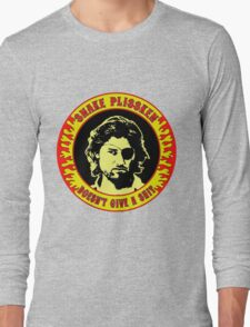 Snake Plissken (doesn't give a shit) Colour Long Sleeve T-Shirt