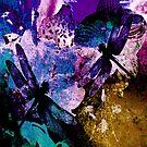 Pearl Dragonflies Throw Pillows by Vitta