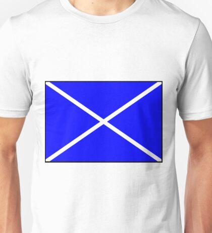 Letter M Flag Unisex T-Shirt
