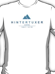 Hintertuxer Ski Resort Austria T-Shirt