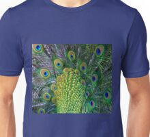 Peacock Tail (Detail) Unisex T-Shirt