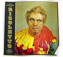 Rigoletto, opera lp Poster