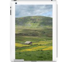 A Dales barn in the buttercups iPad Case/Skin
