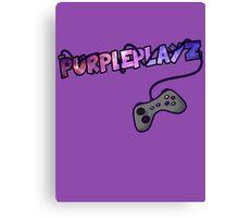 PurplePlayz - Controller Canvas Print