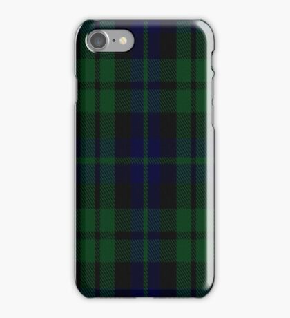 01154 Blue Bayou Fashion Tartan iPhone Case/Skin
