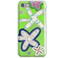 Starfish lime - Galaxy iPhone Case/Skin