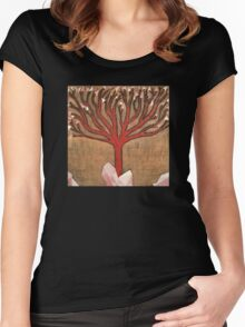 Crystal Tree Women's Fitted Scoop T-Shirt
