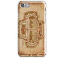 Verdant Creek Map iPhone Case/Skin